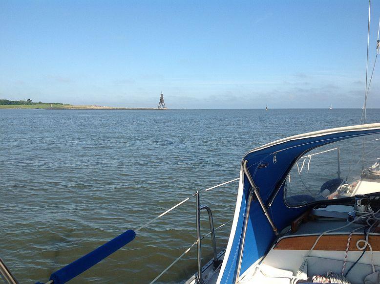 Auslaufen aus Cuxhaven Kugelbalje (18.07.2013)