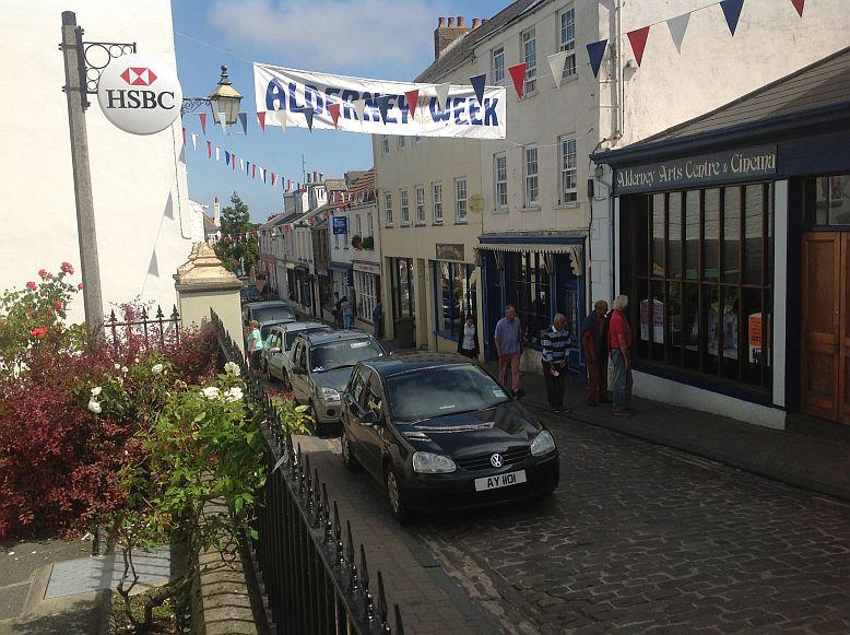 Victoria Street in St. Anne / Alderney