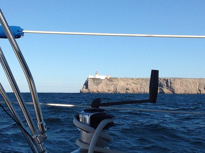 Umrundung von Cabo de Sao Vicente (17.11.2013)