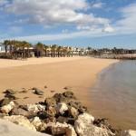Strand an der Algarve (Dezember 2013)