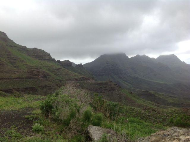 Ausflug in die Wolken von Gran Canaria
