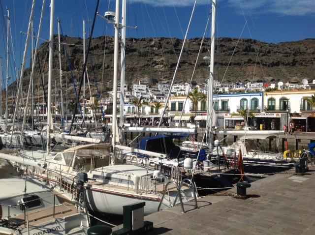 Hafenansicht Puerto Mogan 06.02.2104