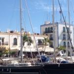 Marina Office und Hotel Puerto de Mogan 06.02.2014erto de Mogan