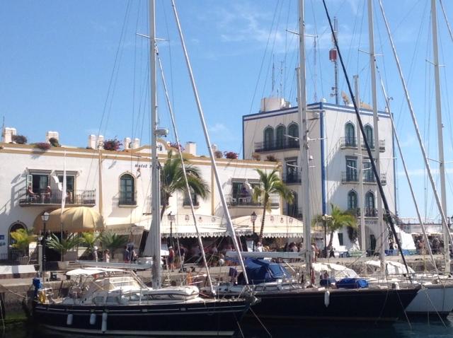Marina Office und Hotel Puerto de Mogan