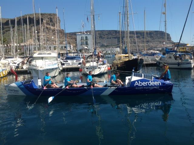 Kurz vorm Start zu einem neuen Ruder-Weltrekordversuch über den Atlantik