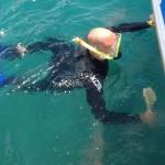 Reinigung des Unterwasserschiffs