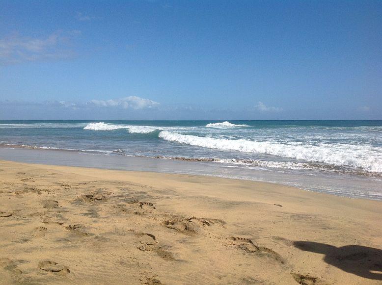 Strand im Südosten