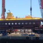 Yellow Submarine nach Werftüberholung