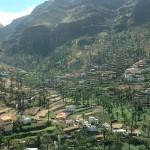 Palmenhain nördlich von Valle Gran Rey
