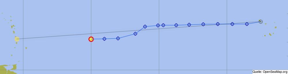29.01.2016 / 16:07h UTC / N14.42 W50.01 / etmal 121sm