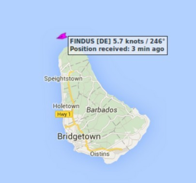 Barbados 03.02.2016 - 18:47 UTC
