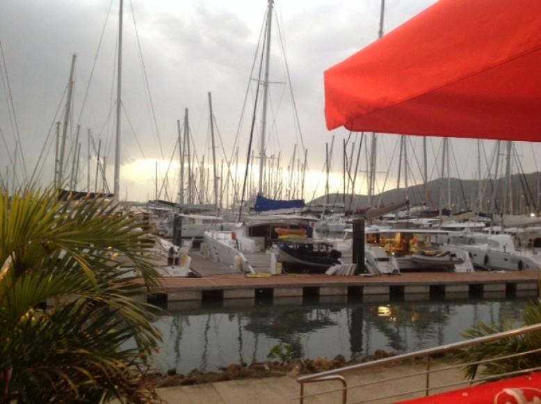 Endlich auf Martinique