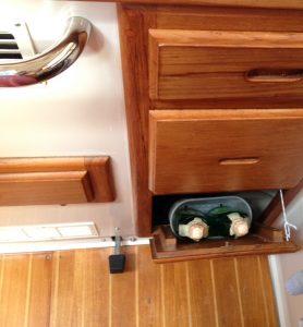 Belüftung des Kühlschrankkompressors
