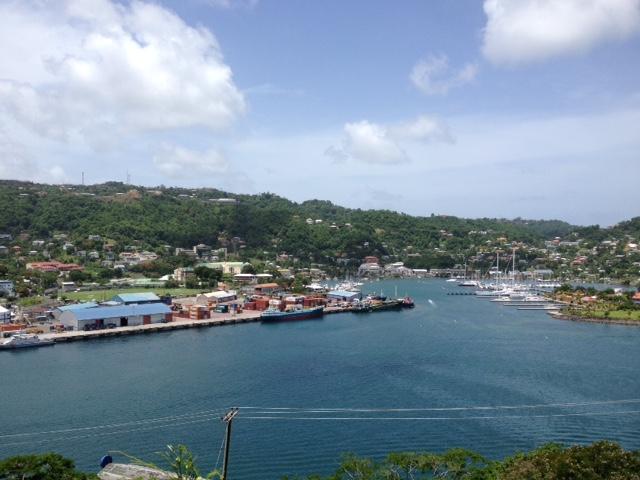 Blick von Fort George