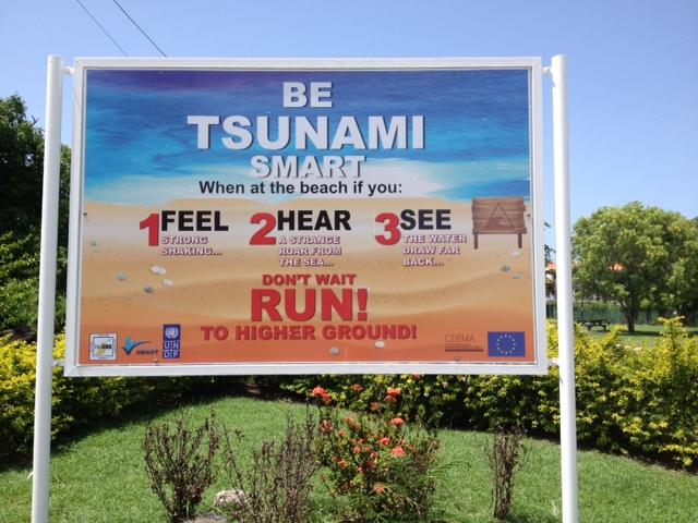 Verhalten bei Tsunamis