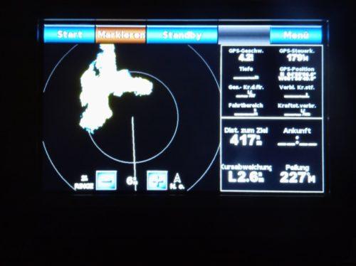 Radarbild vom Squall