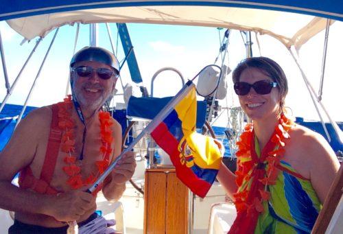 Zwischen Galapagos Inseln und dem Festland von Ecuador / N 00.00.000 - W 086.32.350