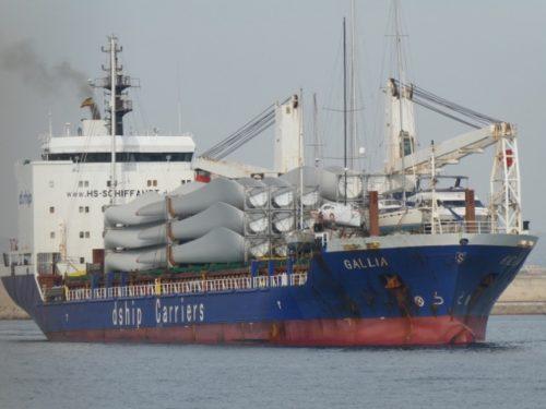 """Die """"Gallia"""" erreicht den Hafen von Palma de Mallorca"""