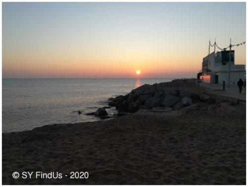 Erster Sonnenaufgang im neuen Jahr(zehnt)