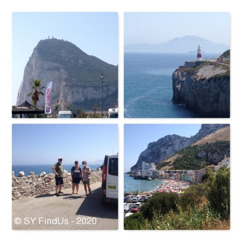 Mit dem Taxi und dem kundigen Driver auf Erkundungstour im Englisch orientierten Gibraltar