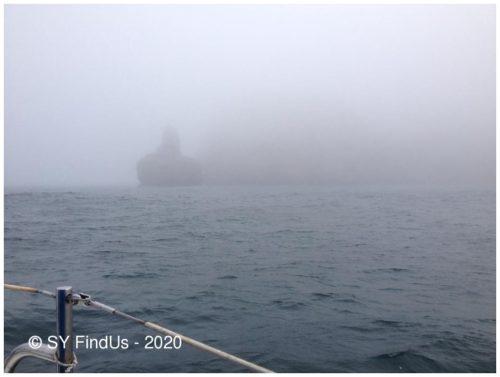 Aufziehender Nebel am Kap