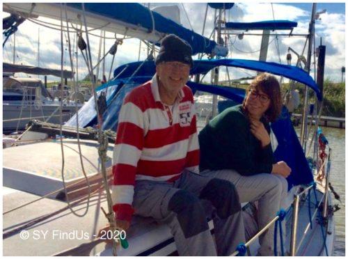 Natürlich empfängt uns auch Karen, die mit Reinhard nunmehr die Findus durch den Nord-Ostsee-Kanal zu ihrem neuen Zuhause in Kiel steuern wird.
